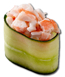 Фреш суши с креветкой